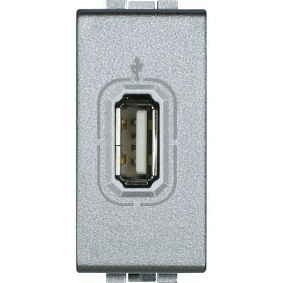 Conector USB 1 módulo tech