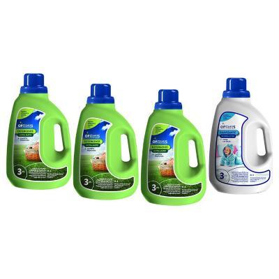 Caja 3 detergente ropa ultra 3 lts + 1 suavizante ropa 3 lts
