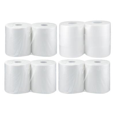 6 Rollos de Toalla 250 mts + 6 rollos de papel higiénico