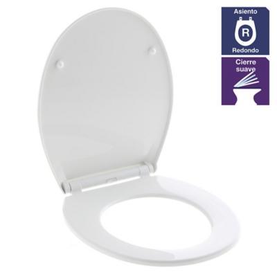 Asiento wc redondo duroplastic soft eco