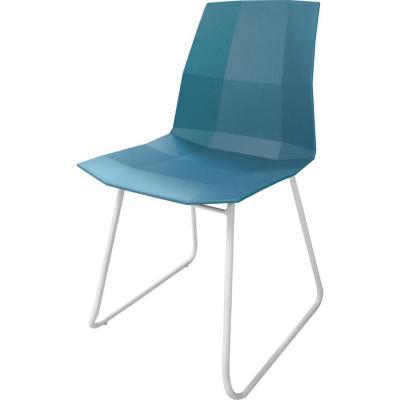 Silla 43x50x82 cm Azul