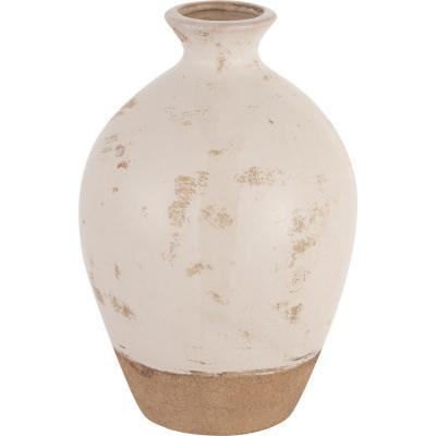 Vasija cerámica Tone 23,5 cm Blanca