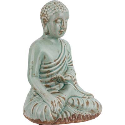 Buda Ceramico 27 cm gris