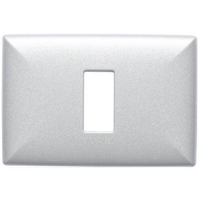 Placa simple  S17 nickel
