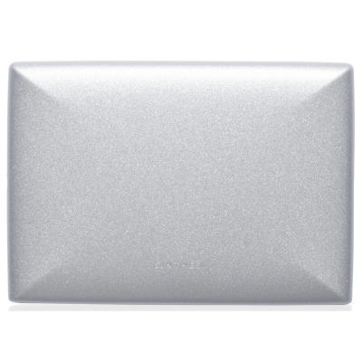 Placa ciega  S22 plata