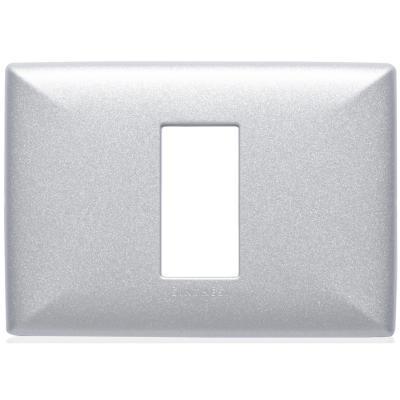 Placa simple  S22 plata