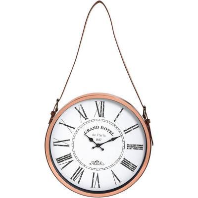 Reloj 38 cm metal con Correa