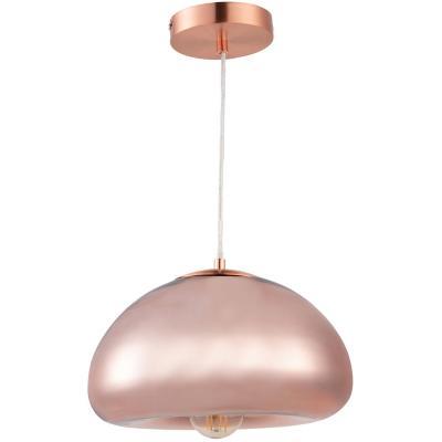 Lámpara de colgar Metal y vidrio Michel Cobre