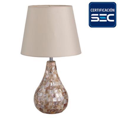 Lámpara de mesa Silves 1 l E27