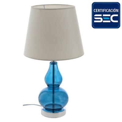 Lámpara de mesa Varzim 1 l E27