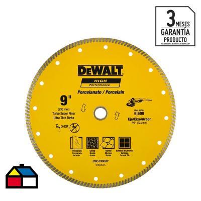 Disco diamante ranurado 9'' 2,0 mm