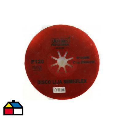Disco lija semi-flex 180x120 mm
