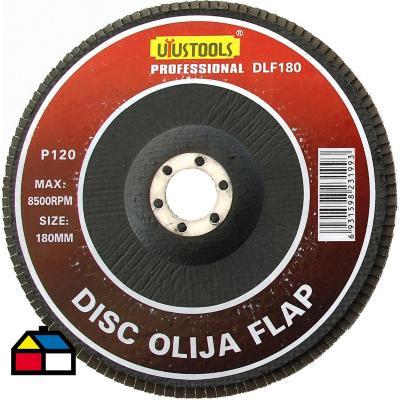 Disco lija flap 180x120 mm