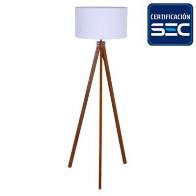 Lámpara de pie Lisse 1 l E27