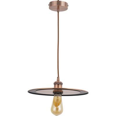 Lámpara de colgar Metal y Aluminio Slim Cobre