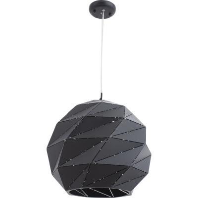 Lámpara de colgar Metal Vigo 1 Negro