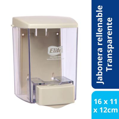 Dispensador  jabón rellenable