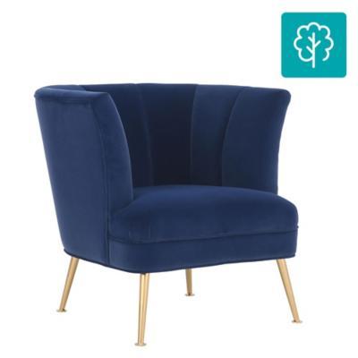 Poltrona 78x78x80 cm Azul