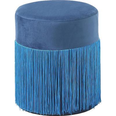 Pouff 30x30x36 cm Azul