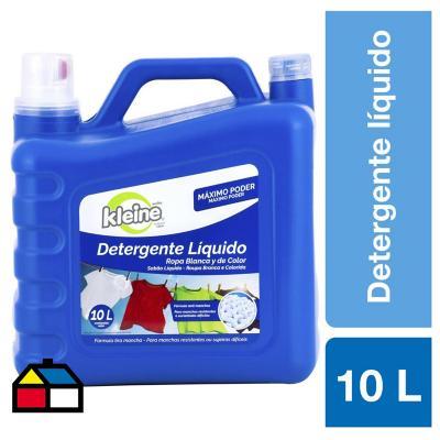 Detergente liquido 10 litros