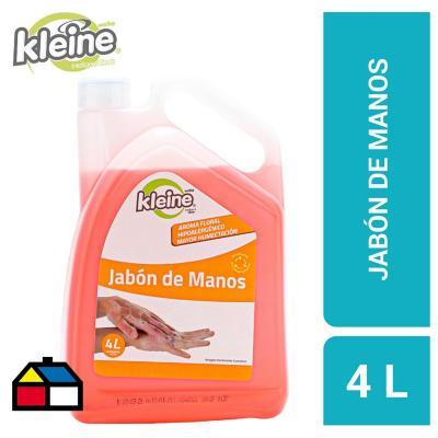 Jabón de mano liquido 4 litros