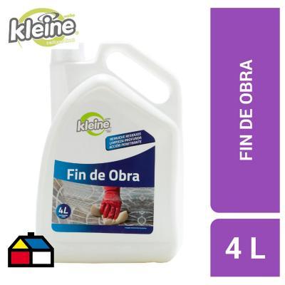 Limpiador fin de obra 4 litros