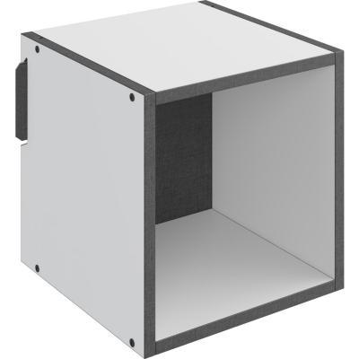 Repisa módulo cuadrado 30x30x30 cm Blanco