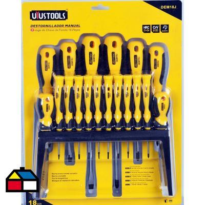 Destornillador manual cj536 18 piezas