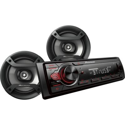 Combo radio 1din sin cd bluetooth + 2 parlantes