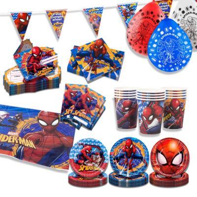 Pack básico spiderman 12 personas