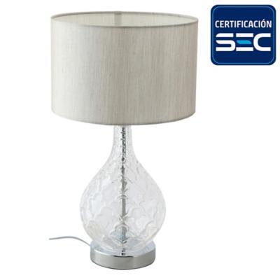 Lámpara de mesa Obidos 1 l E27