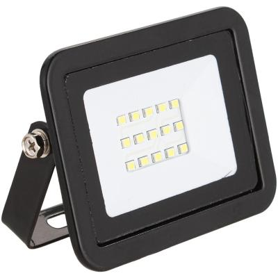 Reflectro led 10 W luz fría negro
