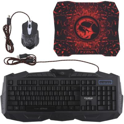 Teclado Gamer + mouse gamer