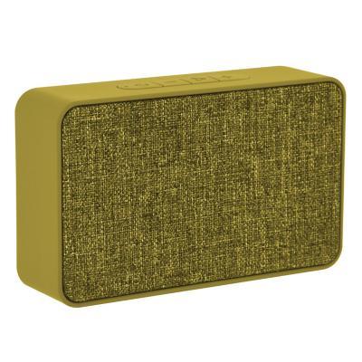Parlante bluetooth box recargable 3 W Amarillo