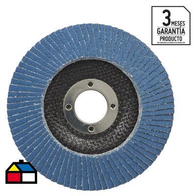 Disco traslapado 566a cónico tipo 29 4,5'' g80, 10 unidades