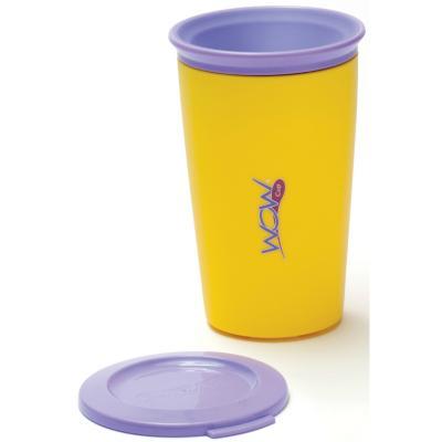 Pack de 2 vasos antiderrame niño azul/amarillo