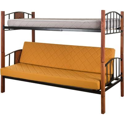 Camarote futón 1 plaza Mostaza