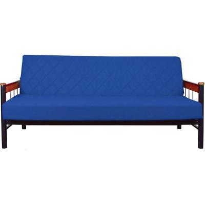 Futón 190x105x75 cm Azul