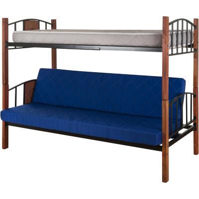 Camarote futón 1 plaza Azul
