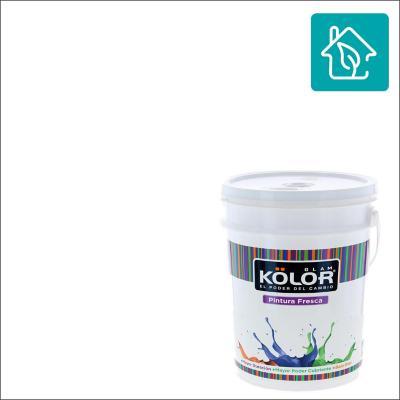 Esmalte al agua uso interior terminacion satin blanco/base 2 galones estandar