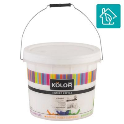 Esmalte al agua uso interior terminacion satin blanco/base 3,5 galones estandar