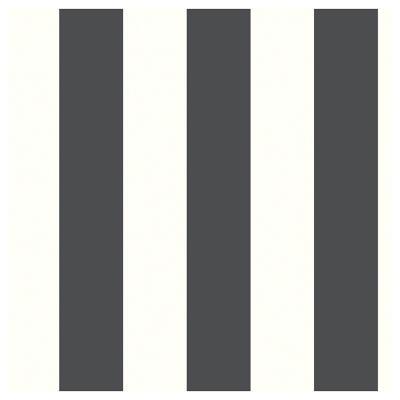 Rollos autoadhesivo Reutilizables Rayas Negras 52X503 cm