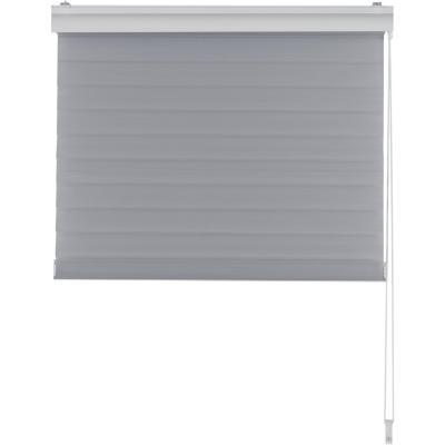 Cortina enrollable Shangri 80x165 cm gris