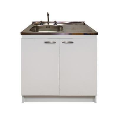 kit mueble cocina derecho 2 puertas 100 x 50 cm