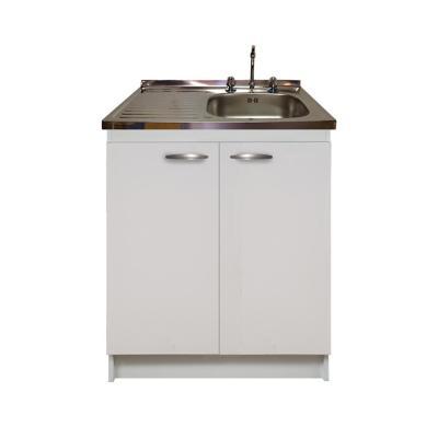 kit mueble cocina izquierdo 2 puertas 80x50 cm