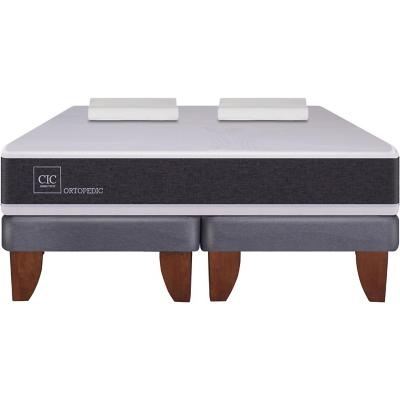 Cama Europea New Ortopedic 2 plazas BD + almohada