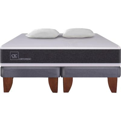 Cama Europea New Ortopedic King  + 2 almohadas
