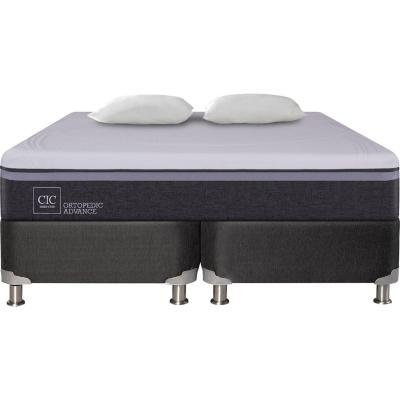 Box Spring Ortopedic Advance 2 plazas BD + 2 almohadas