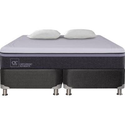Box Spring Ortopedic Advance King  + 2 almohadas