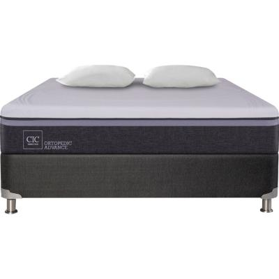 Box Spring Ortopedic Advance 2 plazas BN + 2 almohadas